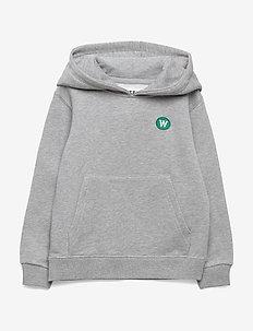 Izzy kids hoodie - bluzy z kapturem - grey melange