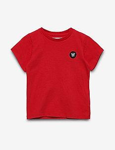 Ola kids T-shirt - kurzärmelige - red