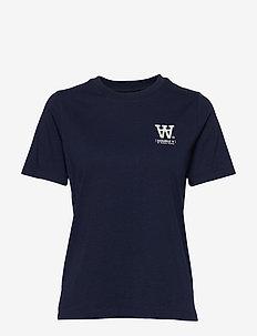 Mia T-shirt - t-shirts - navy