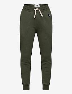 Ran kids trousers - joggings - army green