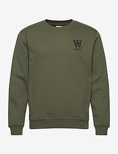 Tye sweatshirt - basic sweatshirts - army green