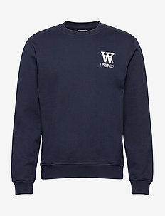 Tye sweatshirt - basic sweatshirts - navy