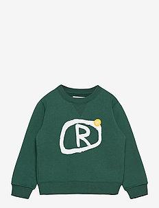 Rod kids sweatshirt - sweatshirts & hættetrøjer - faded green
