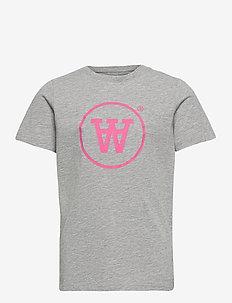 Ola kids T-shirt - kortærmede - grey melange