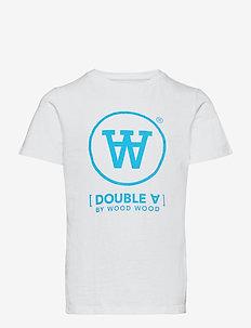 Ola kids T-shirt - kortærmede - white/blue print