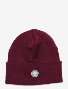 Gerald tall beanie - bonnets & casquettes - dark red