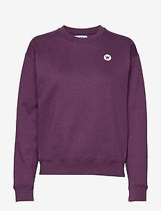 Jess sweatshirt - swetry - aubergine