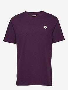 Ace T-shirt - basic t-shirts - aubergine