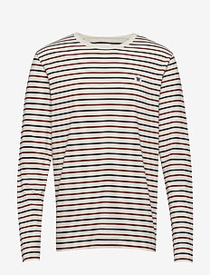 Mel long sleeve - NAVY MULTI STRIPES