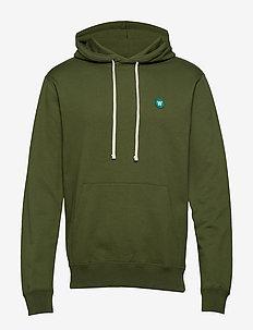 Ian hoodie - ARMY GREEN