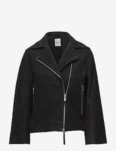 Lucia jacket - kurtki skórzane - black