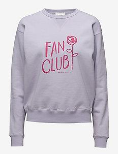 Flora sweatshirt - LIGHT PURPLE