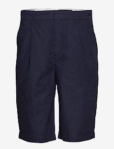 Afonso shorts - tailored shorts - navy