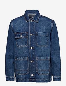 Gavin jacket - WORN BLUE