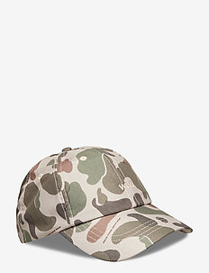 Low profile cap - TAUPE AOP