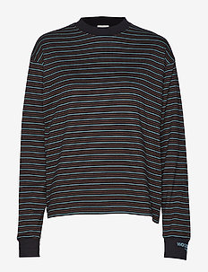 Astrid long sleeve - BLACK STRIPE
