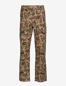 Halvard trousers - TAUPE AOP