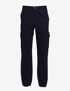 Eigil trousers - bojówki - navy