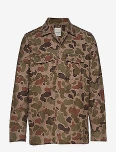Fabian shirt - TAUPE AOP
