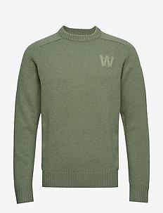 Kevin sweater - DUSTY GREEN