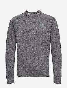 Kevin sweater - GREY MELANGE