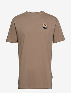 Patch T-shirt - TAUPE