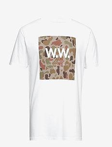 WW Square T-shirt - BRIGHT WHITE