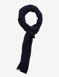 Robin scarf - szale i szaliki - navy