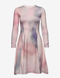 Sue dress - hverdagskjoler - lilac aop