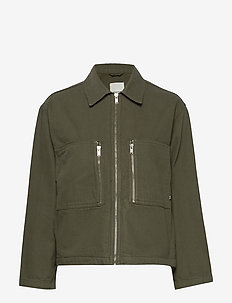 Lidia jacket - lette jakker - dark green