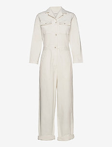 Irene boilersuit - OFF WHITE