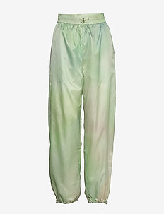 Joice track trousers - sweatpants - green aop