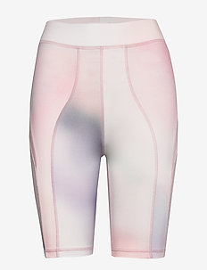 Elena shorts - cycling shorts - lilac aop