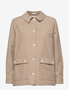 Wilma jacket - light jackets - khaki