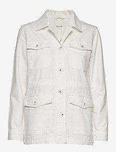 Gretchen jacket - utility jassen - off-white