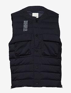 Kelvin light padded vest - vester - navy