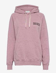 Fred hoodie - hupparit - lilac