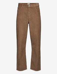 Harold trousers - casual byxor - khaki