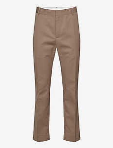 Tristan trousers - chinosy - taupe