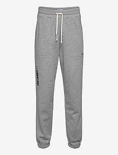 Sigurd trousers - collegehousut - grey melange