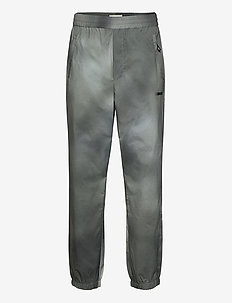 Hampus trousers - rennot - army aop