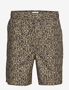 Hamilton shorts - TAUPE AOP