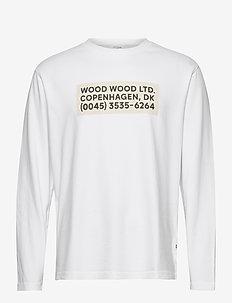 Anakin long sleeve - langermede t-skjorter - bright white