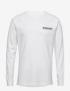 Han long sleeve - basic t-shirts - bright white