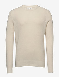 Falcon sweater - basic-strickmode - off-white