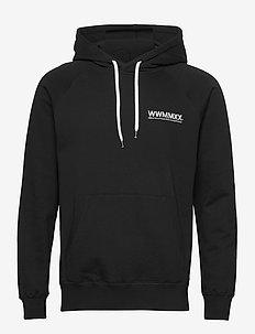 Fred hoodie - kapuzenpullover - 9999 black