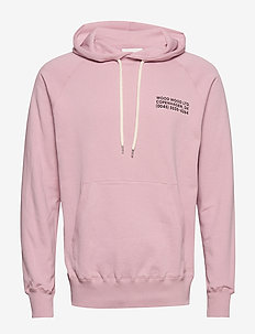 Fred hoodie - perus-college-paitoja - lilac