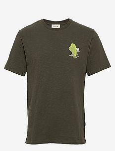 Slater T-shirt - short-sleeved t-shirts - dark green