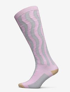 Siri socks - kolanówki - lilac