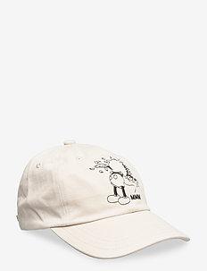 Low profile cap - kappen - beige
